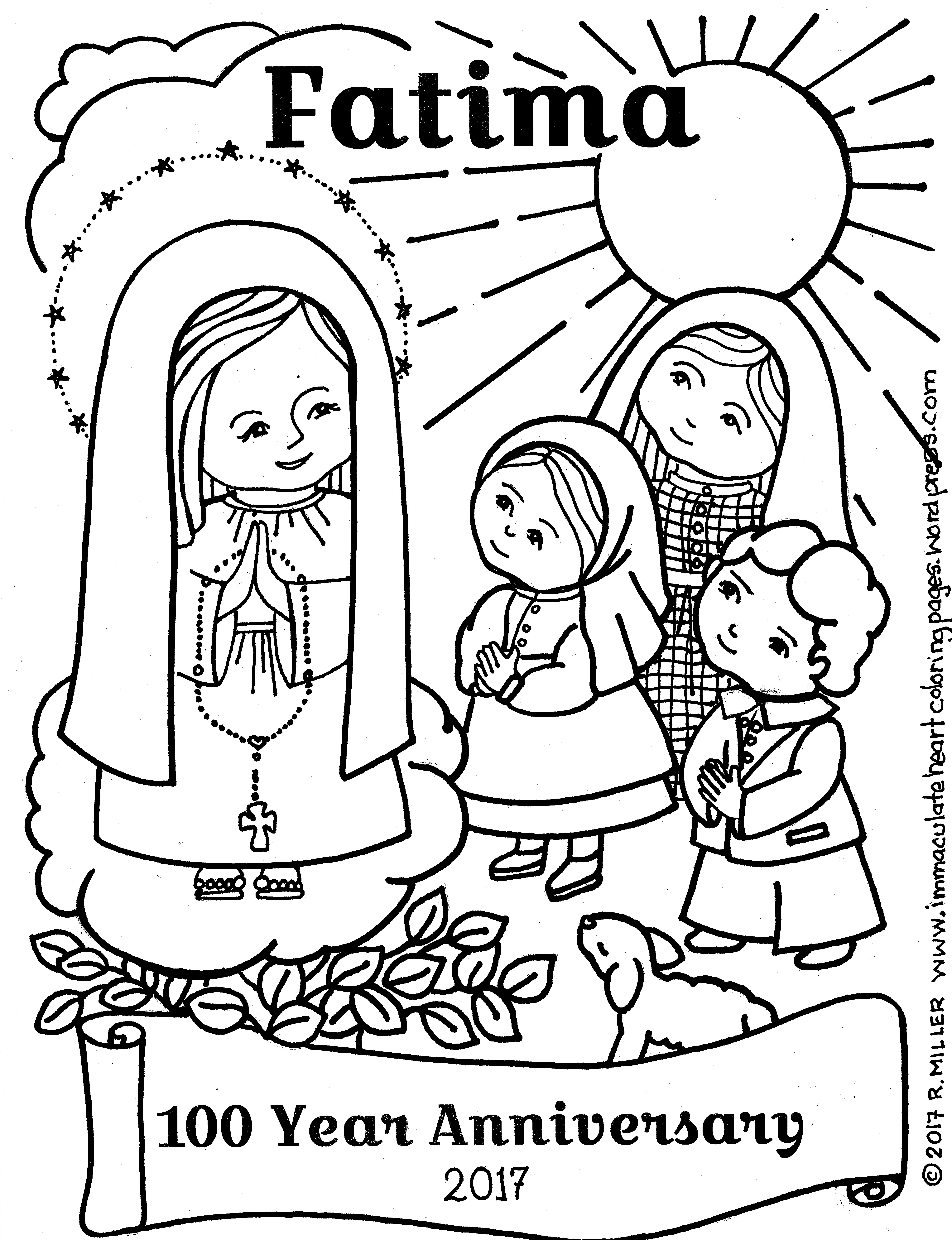 Just Of The Virgin Mary Coloring Pages - Worksheet & Coloring Pages
